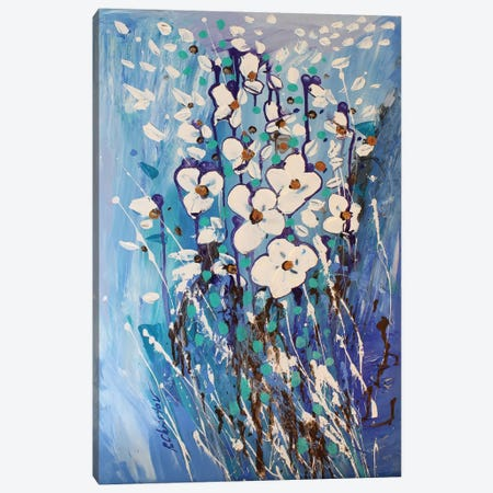 Abstract Garden III Canvas Print #DZH5} by Radiana Christova Art Print