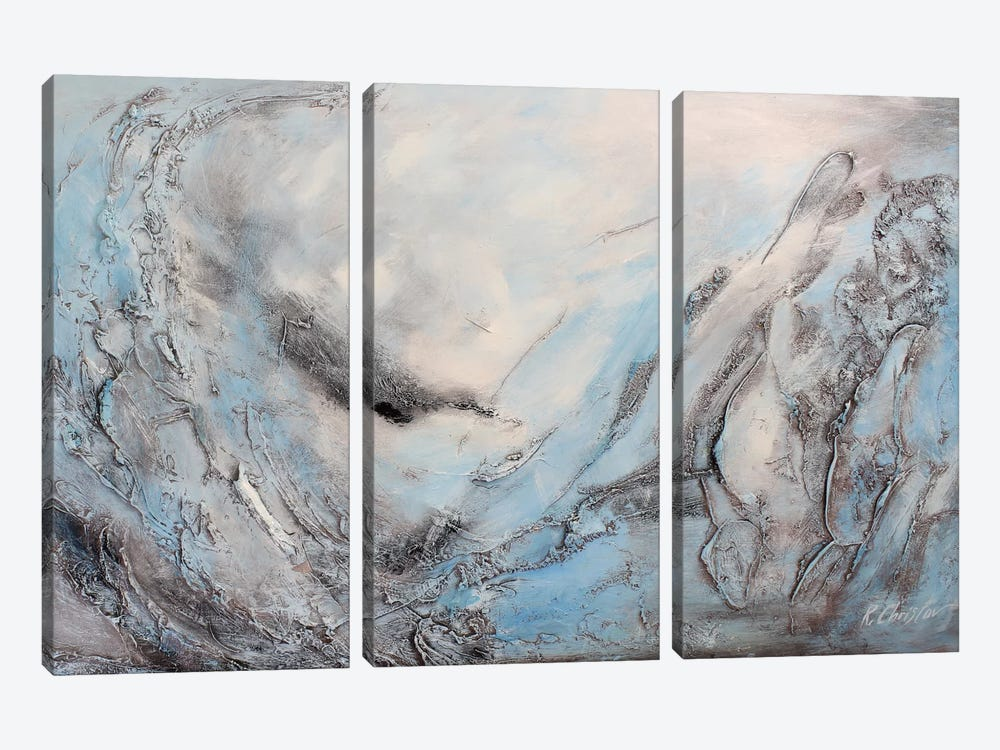 Tranquility by Radiana Christova 3-piece Canvas Art