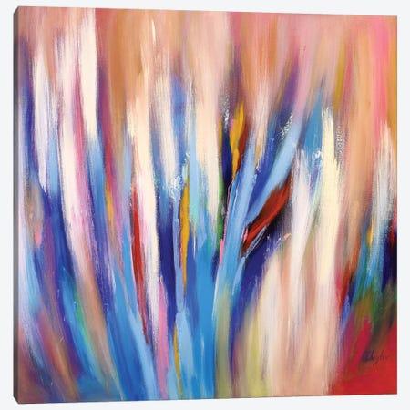 Abstract Garden IV Canvas Print #DZH6} by Radiana Christova Canvas Art Print
