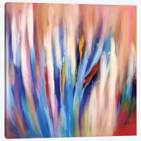 Abstract Garden IV Canvas Print #DZH6} by Radiana Christova Canvas Art Print