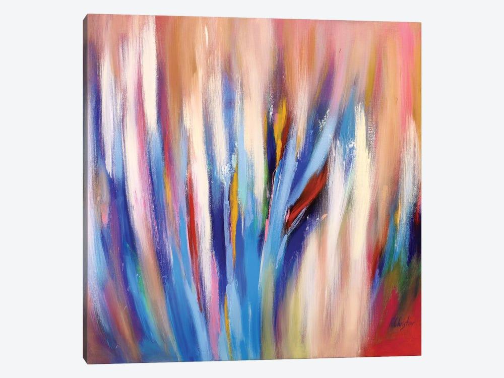 Abstract Garden IV by Radiana Christova 1-piece Canvas Artwork