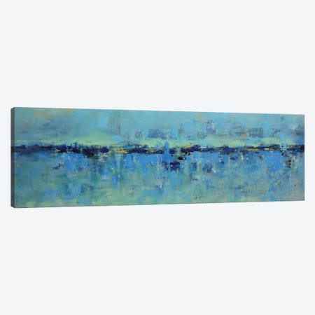 Abstract Seascape XXI Canvas Print #DZH71} by Radiana Christova Canvas Art Print