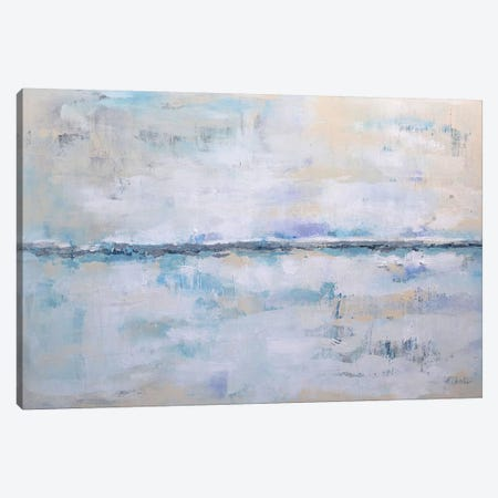 Abstract Seascape XXII Canvas Print #DZH72} by Radiana Christova Art Print
