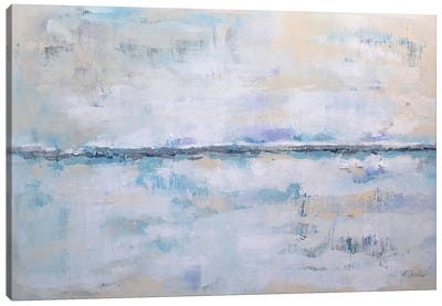 Abstract Seascape XXII Canvas Art Print
