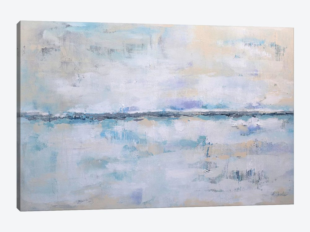 Abstract Seascape XXII 1-piece Canvas Artwork