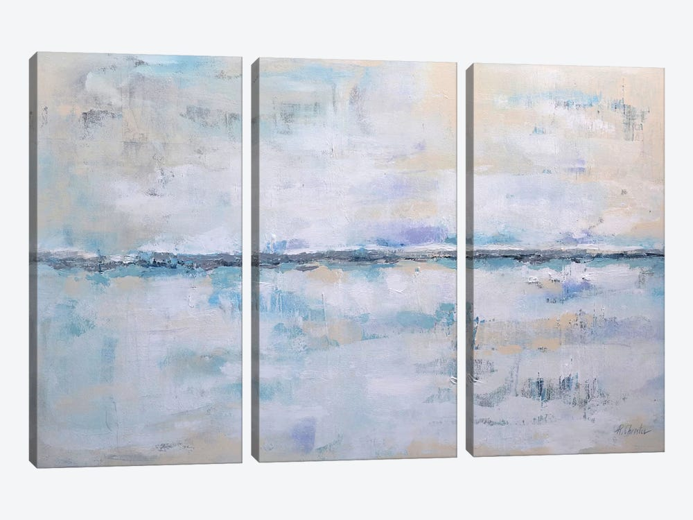 Abstract Seascape XXII 3-piece Canvas Wall Art