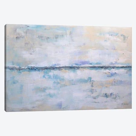 Abstract Seascape XXII Canvas Print #DZH72} by Radiana Christova Art Print