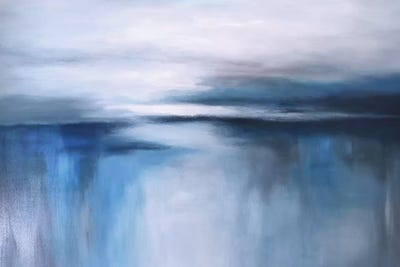 Mini Abstract Seascape Painting