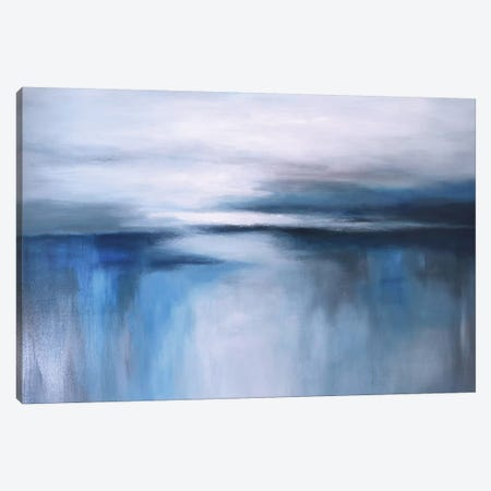 Abstract Seascape XXIV Canvas Print #DZH73} by Radiana Christova Canvas Art Print
