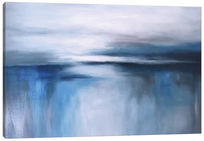 Abstract Seascape XXIV Canvas Art Print