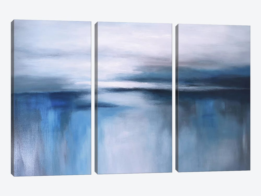 Abstract Seascape XXIV by Radiana Christova 3-piece Art Print