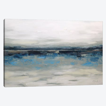 Abstract Seascape XXVI Canvas Print #DZH74} by Radiana Christova Canvas Art