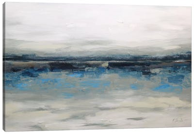 Abstract Seascape XXVI Canvas Art Print