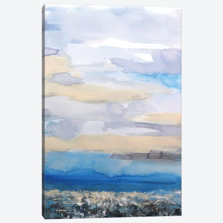 Abstract Seascape XXVII Canvas Print #DZH75} by Radiana Christova Canvas Art