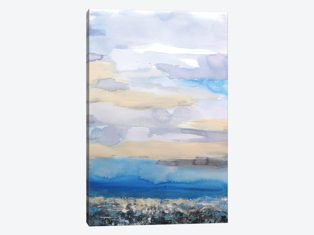 Abstract Seascape XXVII by Radiana Christova 1-piece Canvas Print