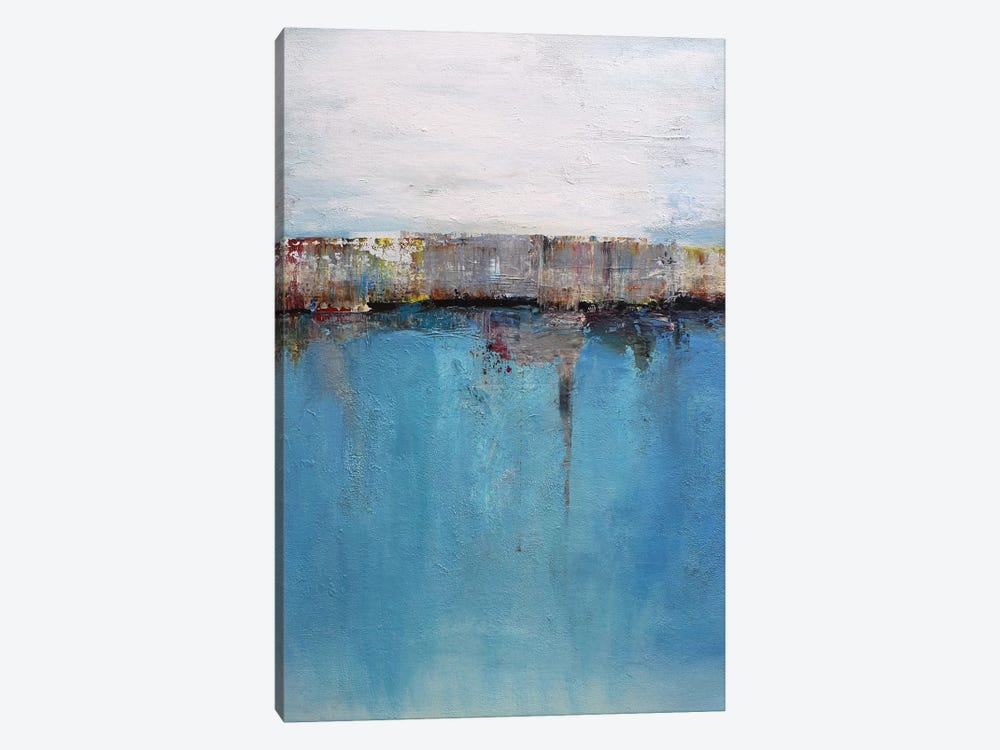 Abstract Seascape XXIX by Radiana Christova 1-piece Canvas Art Print