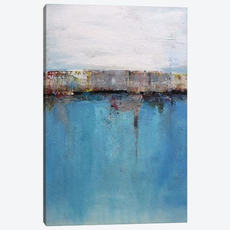 Abstract Seascape XXIX Canvas Print #DZH77} by Radiana Christova Canvas Art