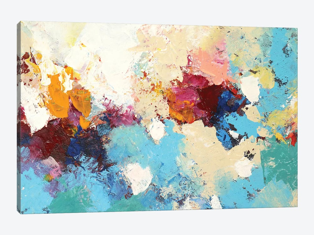Dancing Petals by Radiana Christova 1-piece Art Print