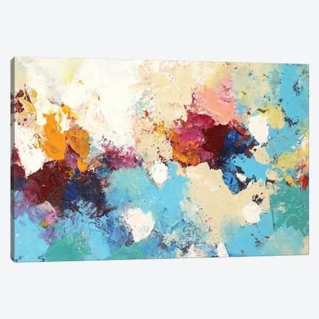 Dancing Petals Canvas Print #DZH79} by Radiana Christova Canvas Art Print