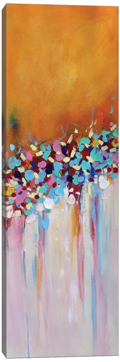 Abstract Garden V Canvas Art Print