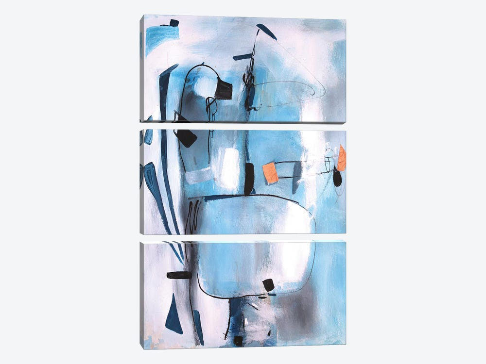Under Water by Radiana Christova 3-piece Canvas Wall Art