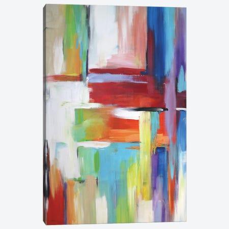 Abstract City Lights Canvas Print #DZH86} by Radiana Christova Canvas Print