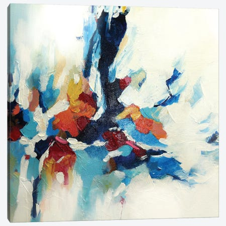 Abstract Garden VI Canvas Print #DZH87} by Radiana Christova Art Print