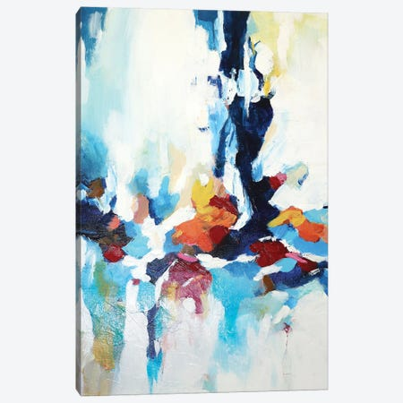 Abstract Garden VII Canvas Print #DZH88} by Radiana Christova Canvas Wall Art