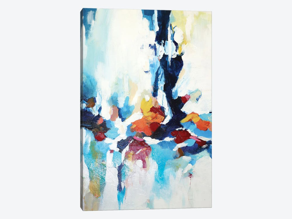 Abstract Garden VII 1-piece Canvas Art Print
