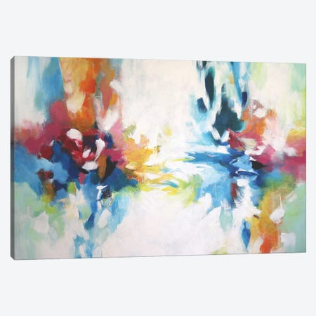 Abstract Garden VIII Canvas Print #DZH89} by Radiana Christova Canvas Art