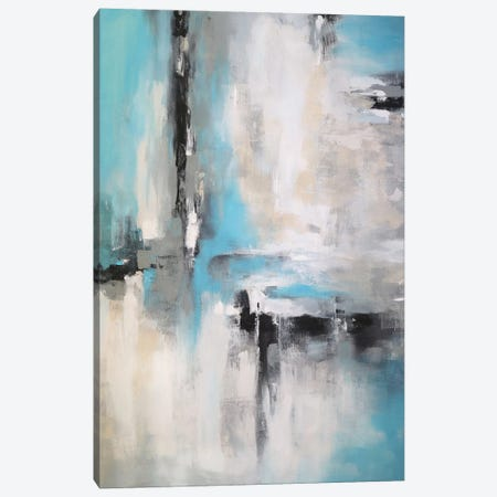 Abstraction Rain Canvas Print #DZH90} by Radiana Christova Canvas Art Print