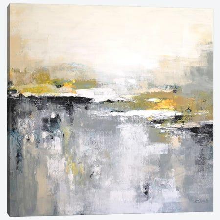 Harmony In Gray And Yellow Canvas Print #DZH94} by Radiana Christova Canvas Art