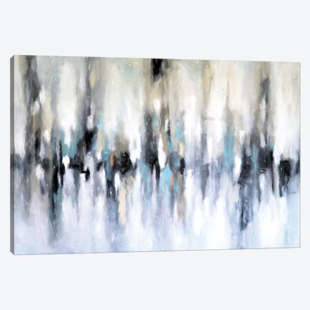 Abstract Cityscape Canvas Print #DZH97} by Radiana Christova Canvas Artwork