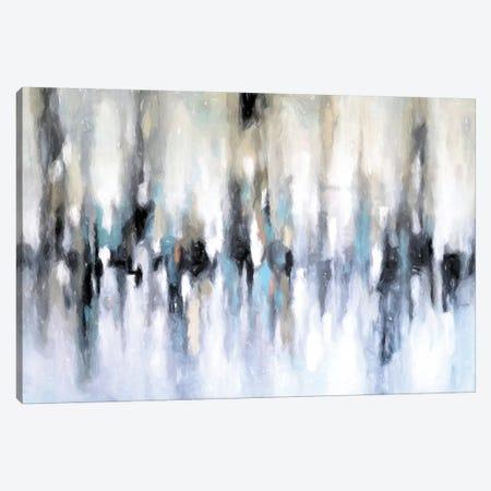 Abstract Cityscape Canvas Print #DZH97} by Radiana Christova Canvas Artwork