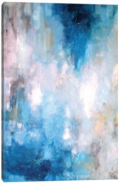 Abstract Rain V Canvas Art Print