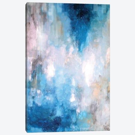 Abstract Rain V 3-Piece Canvas #DZH98} by Radiana Christova Art Print