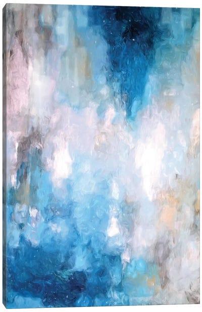 Abstract Rain V Canvas Art Print