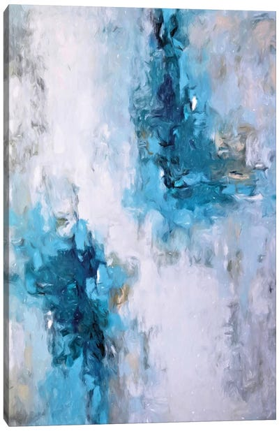 Abstract Rain III Canvas Art Print