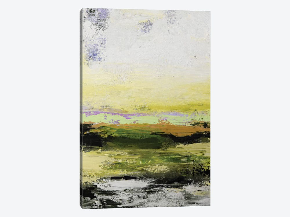 Abstract Landscape XIV by Radiana Christova 1-piece Canvas Art Print