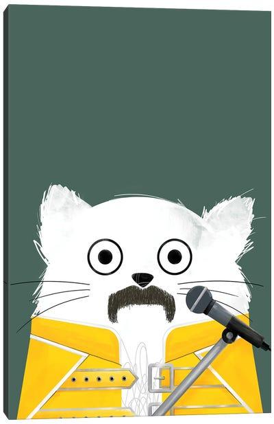 Cat Freddie Canvas Art Print