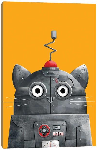 Cat Robot C.A.T Canvas Art Print