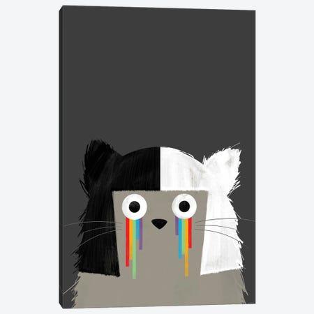 Cat Sia Canvas Print #DZL20} by Doozal Canvas Art