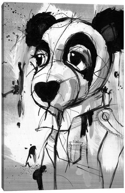Panda Admiral Canvas Art Print