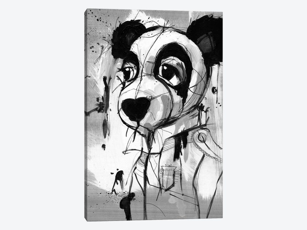Panda Admiral by Doozal 1-piece Art Print