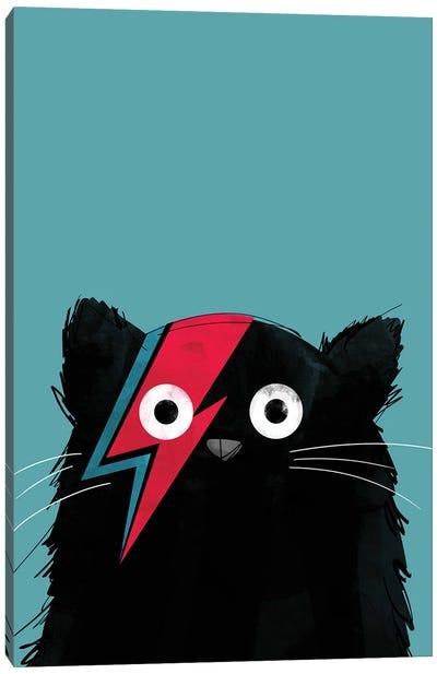 Cat Bowie Canvas Art Print
