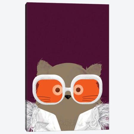 Cat Elton Canvas Print #DZL7} by Doozal Canvas Art Print