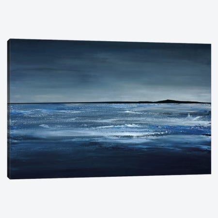 Blue Horizon Canvas Print #EAK1} by Earl Kaminsky Canvas Print