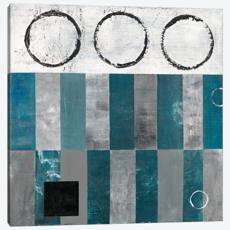 Circle And Square Detail Canvas Print #EAK2} by Earl Kaminsky Art Print
