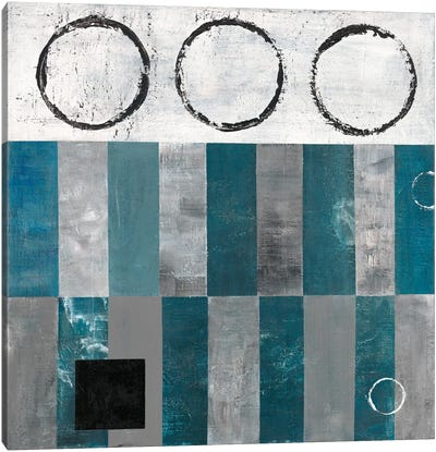 Circle And Square Detail Canvas Art Print