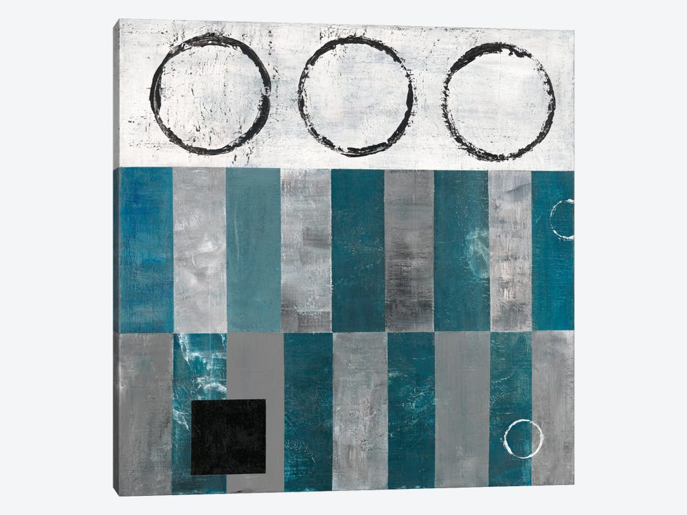 Circle And Square Detail by Earl Kaminsky 1-piece Canvas Print